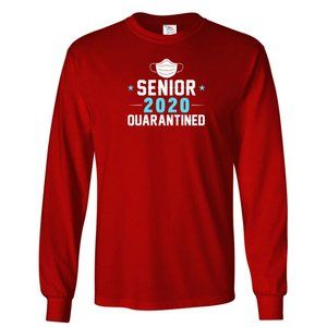 Men's QUARANTINED 2020 T-Shirt Long Sleeve